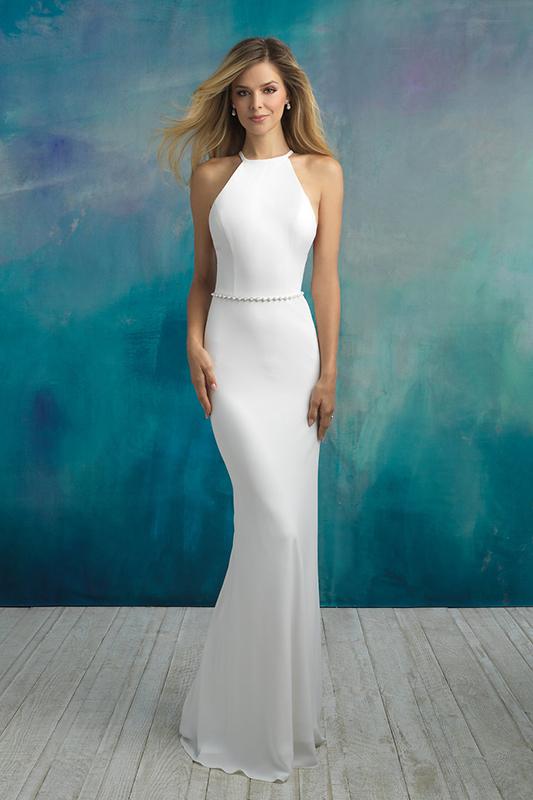 9521 Allure Bridals Modern Wedding Dress