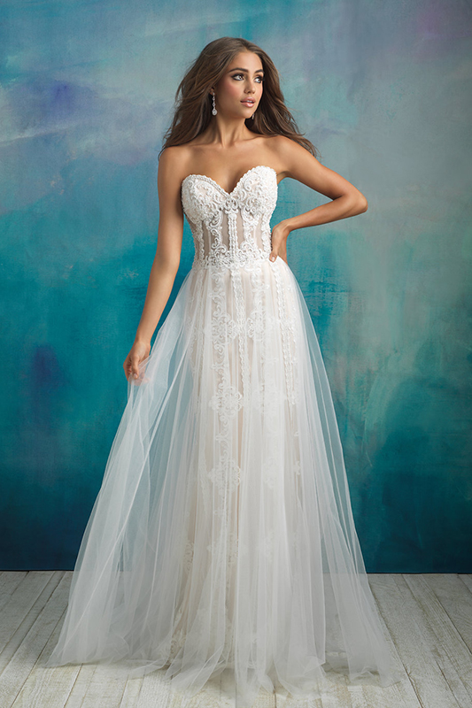 9523 Allure Bridals Wedding Dress
