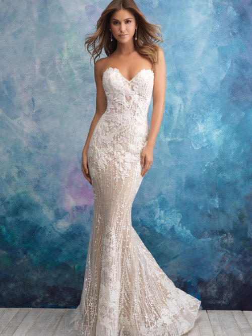9550 Allure Bridals Bridal Gown