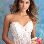 9550 Allure Bridals Vintage inspired Bridal Gown
