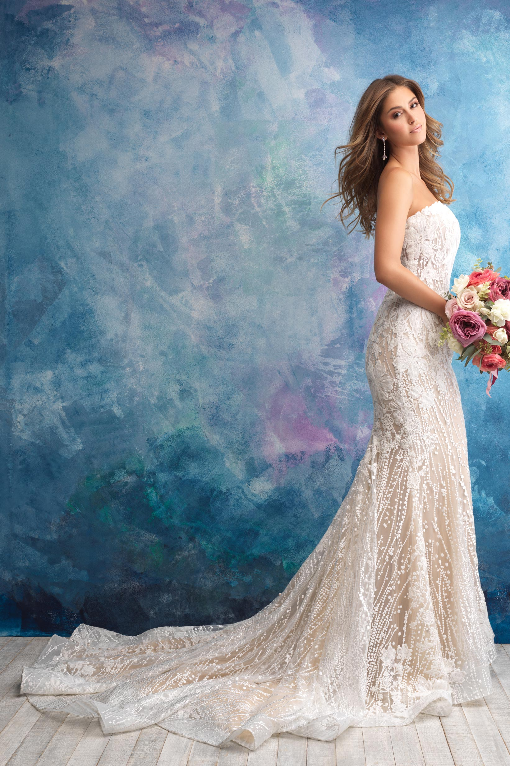 9550 Allure Bridals Wedding Dress