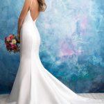 9558 Allure Bridals Modern Wedding Dress
