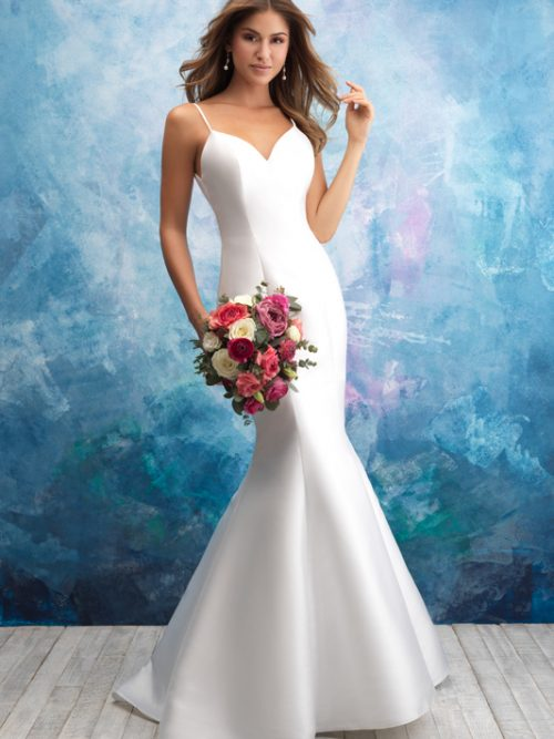 9558 Allure Bridals Sheath Wedding Dress