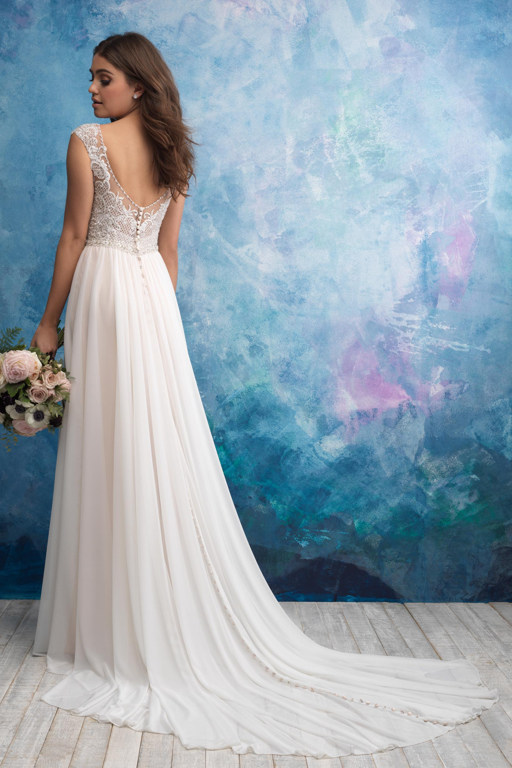 9563 Allure Bridals Princess Line Bridal Gown