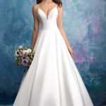 9570 Allure Bridals Modern Wedding Dress