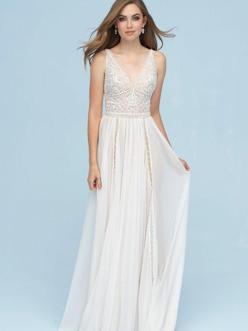 9616 Allure Bridals Boho Bridal Gown