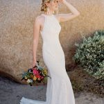 F114 Adele Wilderly Bride Sheath Bridal Gown