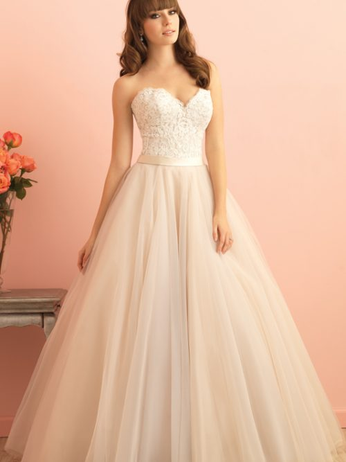 2853 Allure Romance Classic Bridal Gown