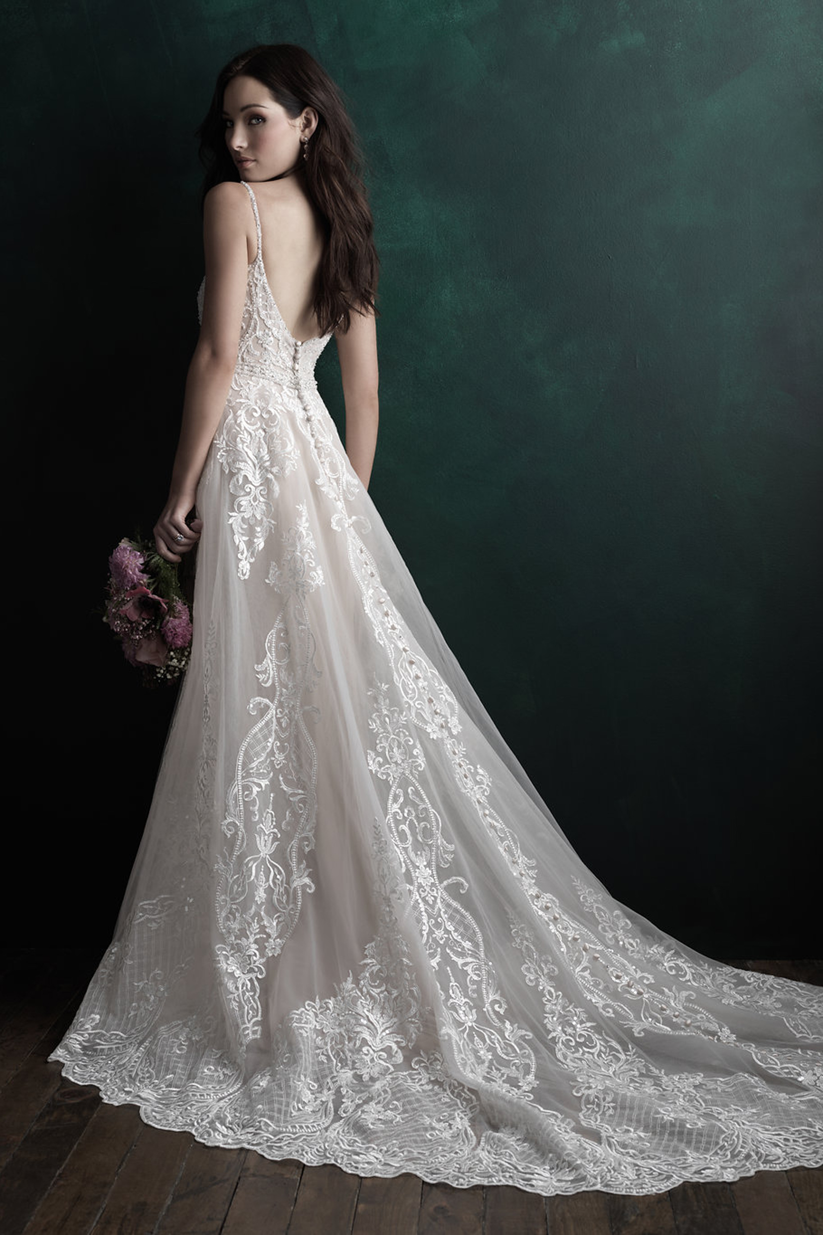C511 Allure Couture Elegant Bridal Gown