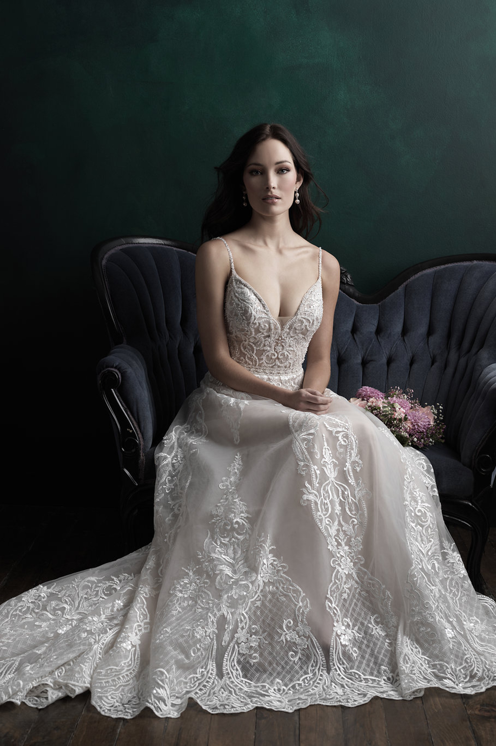 C511 Allure Couture Princess Line Bridal Gown