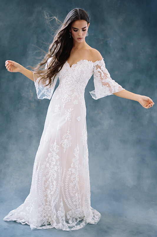 F104 Willow Wilderly Princess Line Bridal Gown
