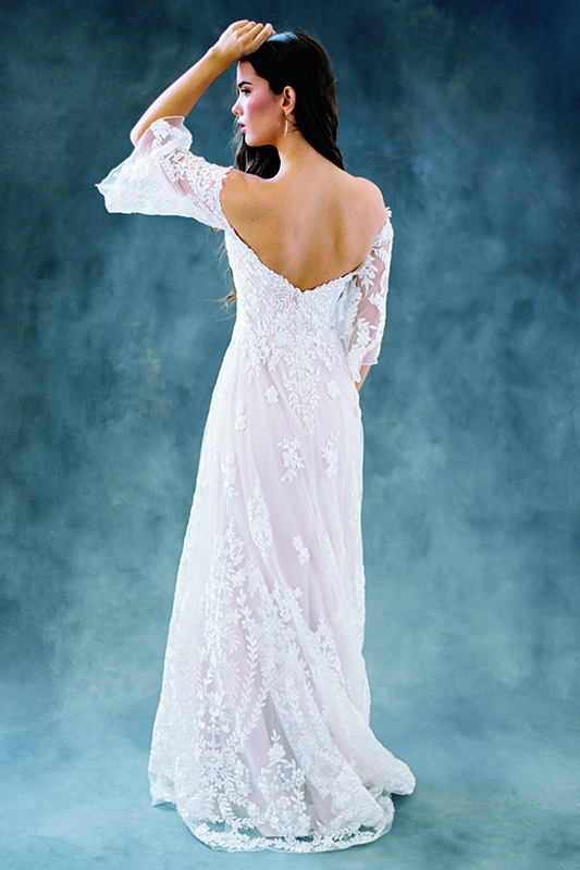 F104 Willow Wilderly Bohemian Beauty Bridal Gown