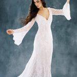 F108 Sage Wilderly Boho Bridal Gown