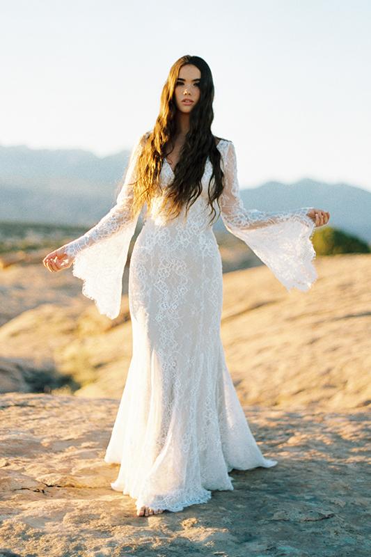 F108 Sage Wilderly Bride Designer Wedding Dress
