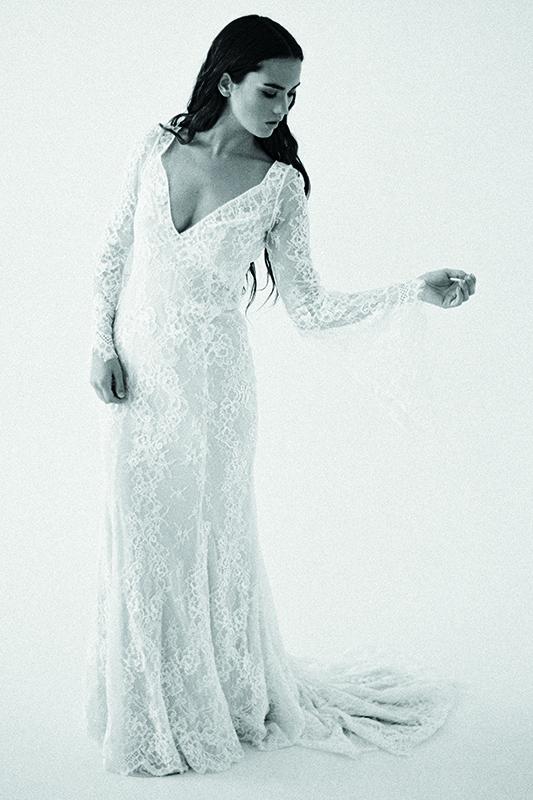 F108 Sage Wilderly Bridal Gown