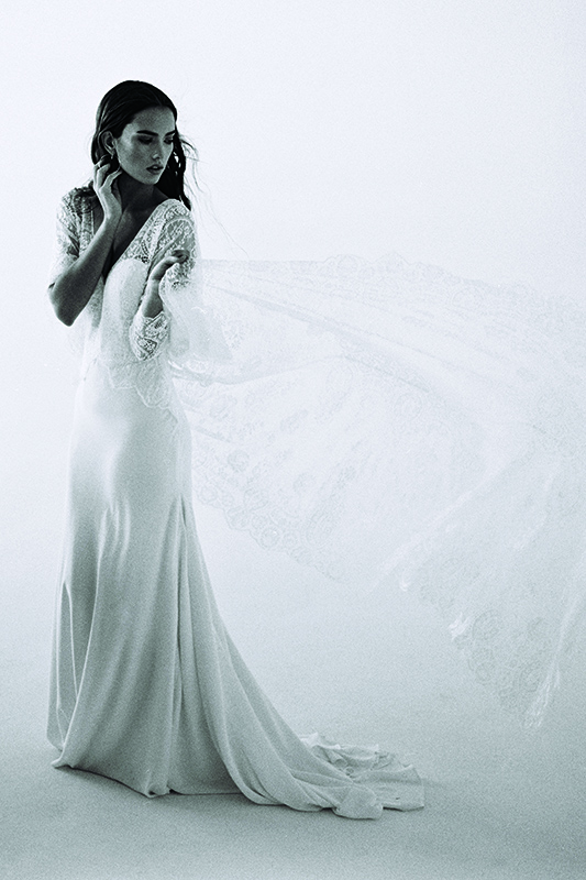 F112 Opal Wilderly Sheath Wedding Dress