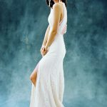 F114 Adele Wilderly Bride Bohemian Bridal Gown