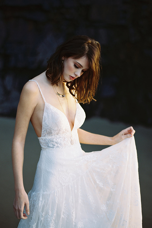 F115 Lily Wilderly Bride Bohemian Bridal Gown