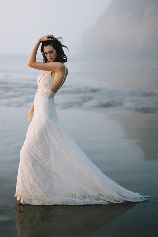 F115 Lily Wilderly Bride Sheath Wedding Dress
