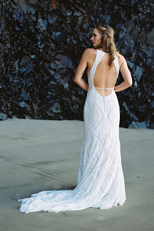 F116 Marlowe Boho Wedding Dress
