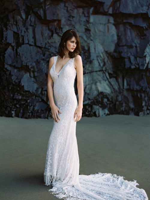 F120 Rory Wilderly Boho Bridal Gown