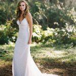 F121 Selena Boho Sheath Bridal Gown