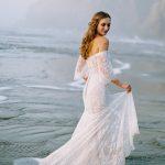 F124 Stella Wilderly Bride Boho Wedding Dress