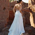 F130 Goldie Wilderly Bride Boho Wedding Dress