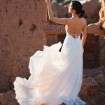 F130 Goldie Wilderly Bride Designer Wedding Dress