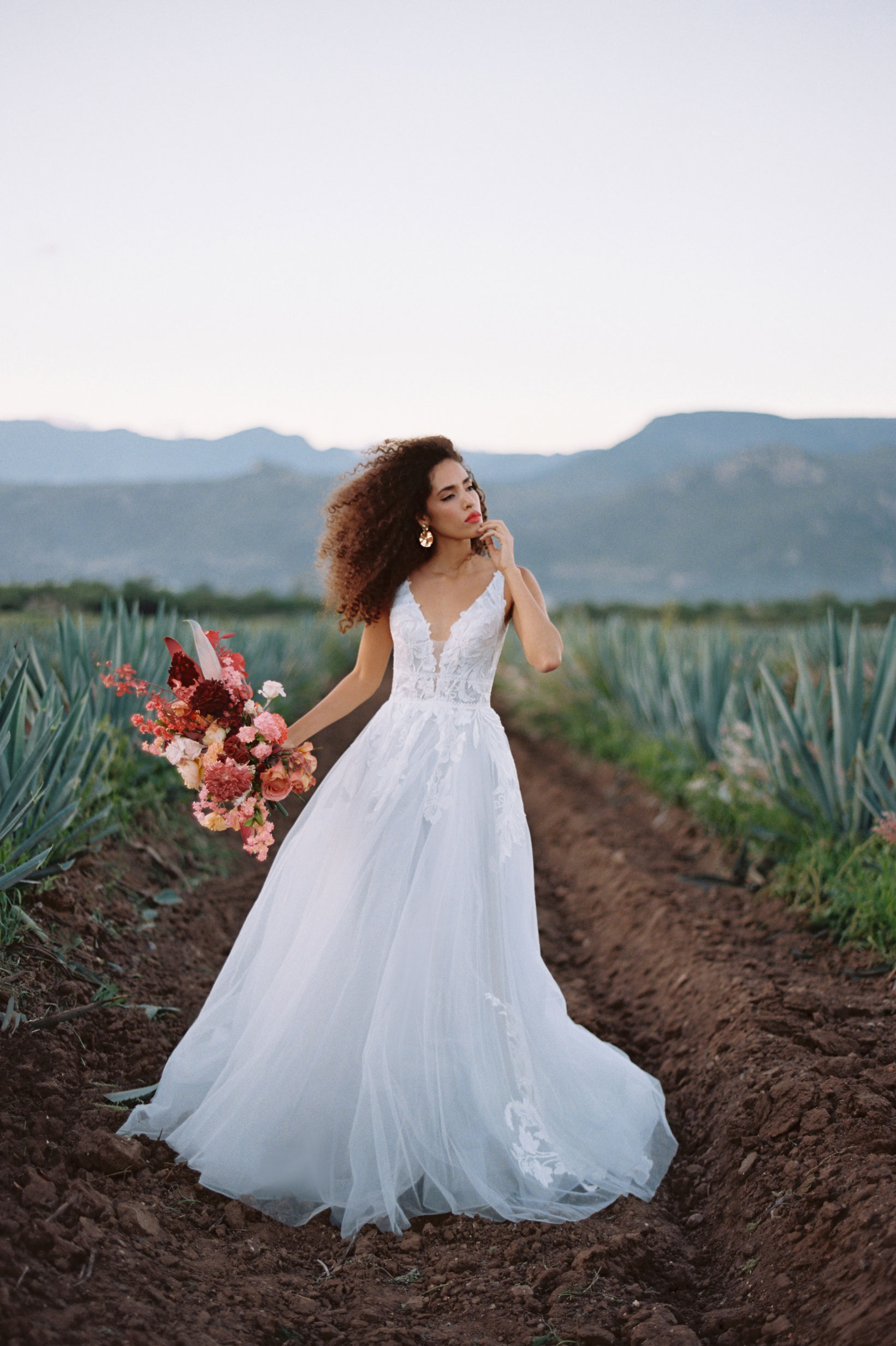 F142 Adara Wilderly Boho Wedding Dress