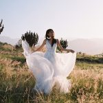 F142 Adara Wilderly Boho Princess Bridal Gown