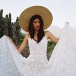 F148 Hollis Wilderly Bride Boho Wedding Dress
