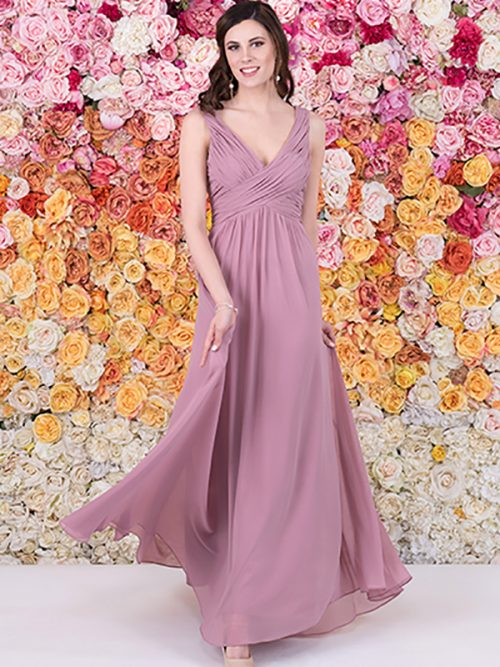 Leah The Bridal Outlet Exclusive Chiffon Bridesmaid Dress