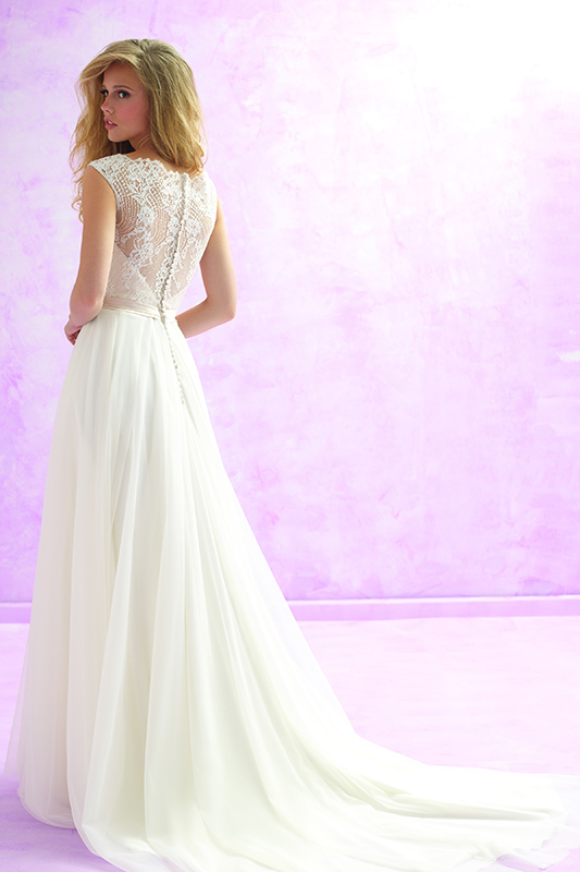 MJ101 Madison James Elegant Bridal Gown