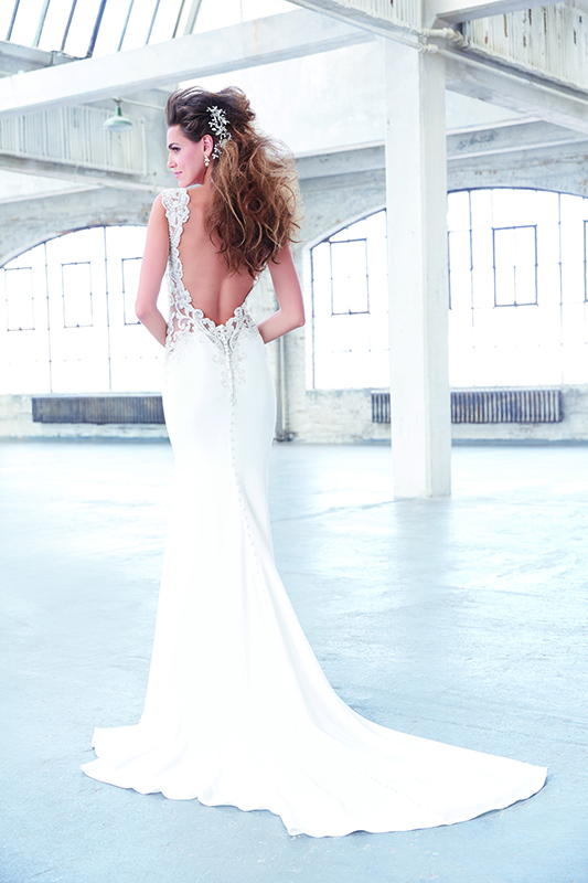 MJ307 Madison James Modern Wedding Dress