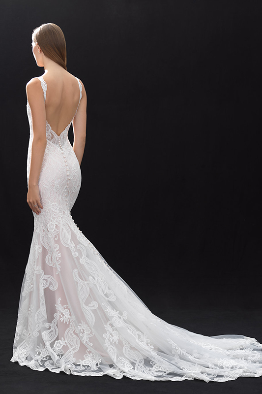 MJ405 Madison James Sheath Bridal Gown