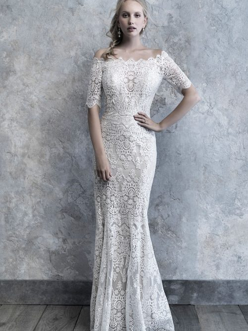 MJ515 Madison James Sheath Wedding Dress