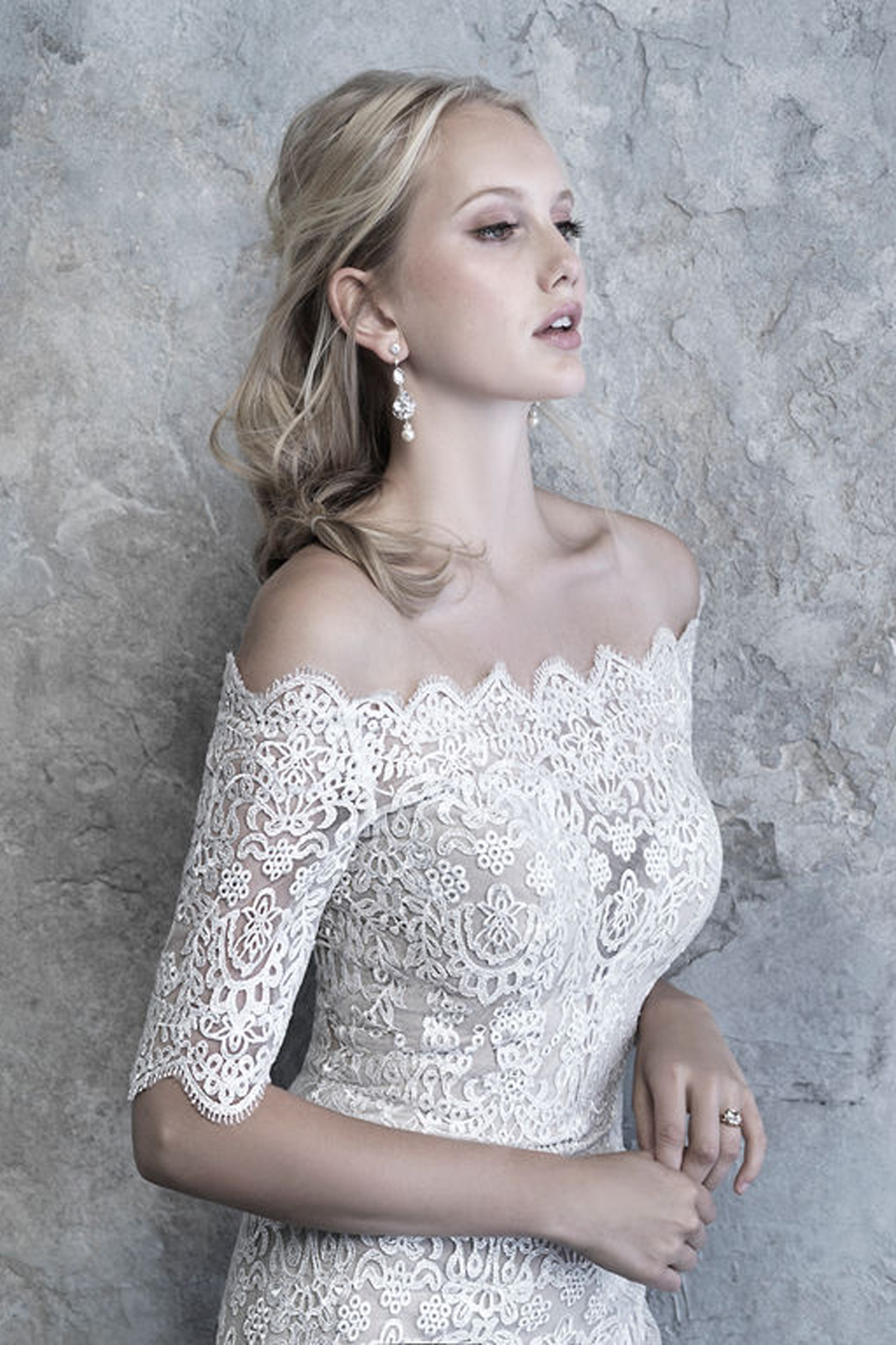 MJ515 Madison James Vintage Inspired Wedding Dress