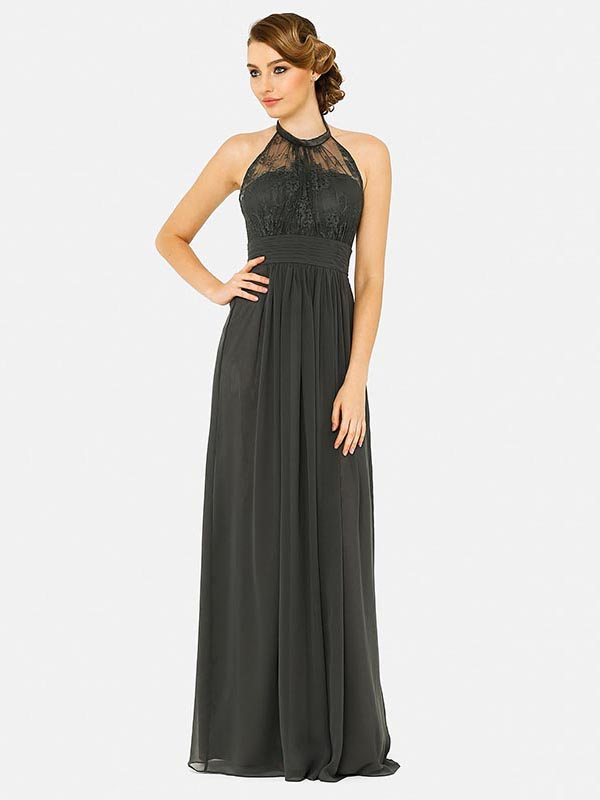 Tania Olsen PO33 Bridesmaid Halter Neck Dress