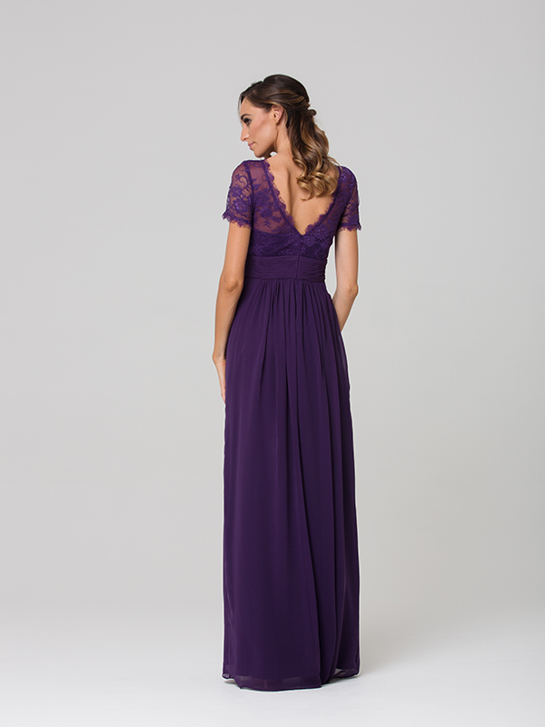 Tania Olsen PO34 Low Back Bridesmaid Dress