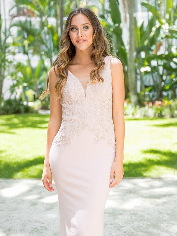 Tania Olsen PO72 Modest Bridesmaid Gown