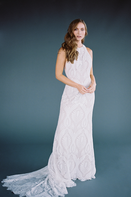 F116 Marlowe Sheath Bridal Gown