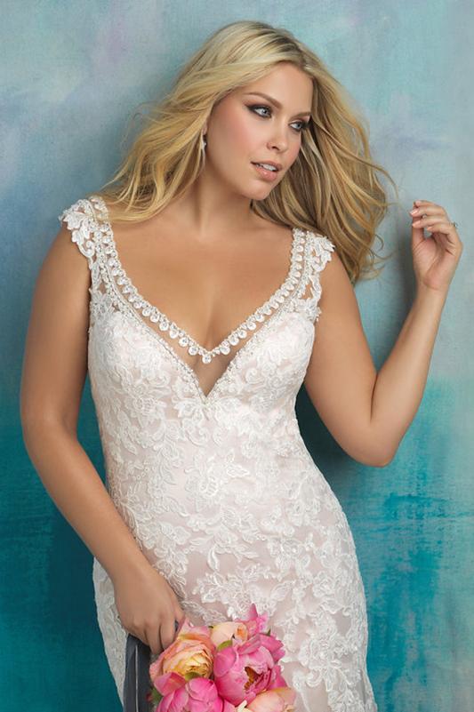 W411 Allure Women Sheath Bridal Gown