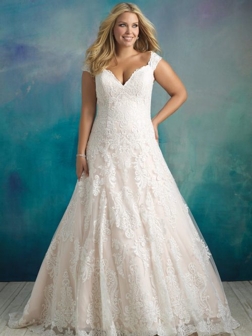 W416 Allure Women Classic Bridal Gown