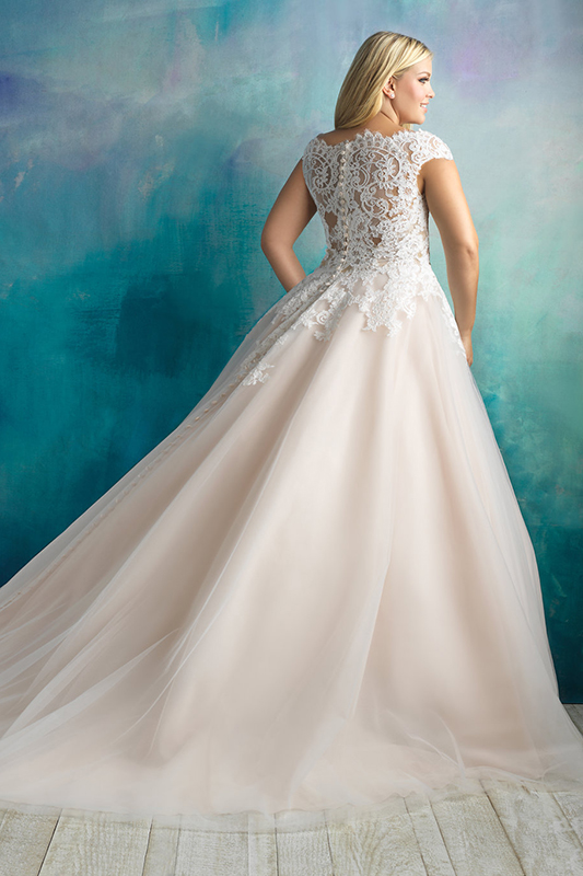 W419 Allure Women Classic Bridal Gown