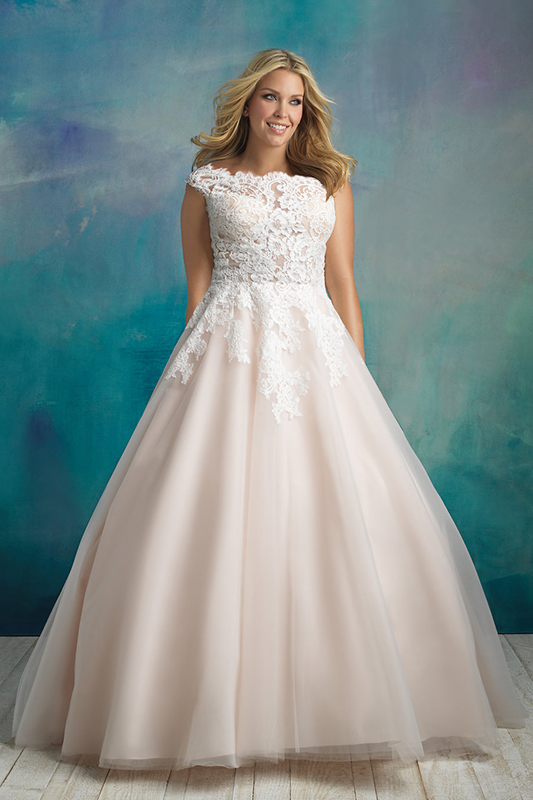 W419 Allure Women Ballgown