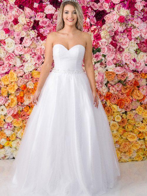 G211 Allure Debutante Gown