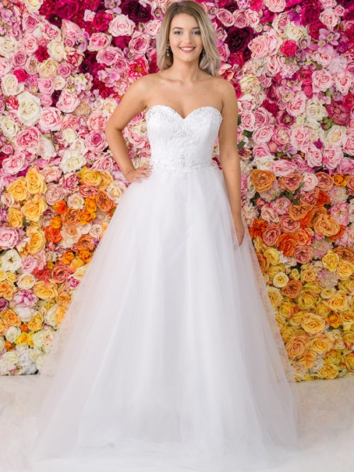 G213 Allure Debutante Gown