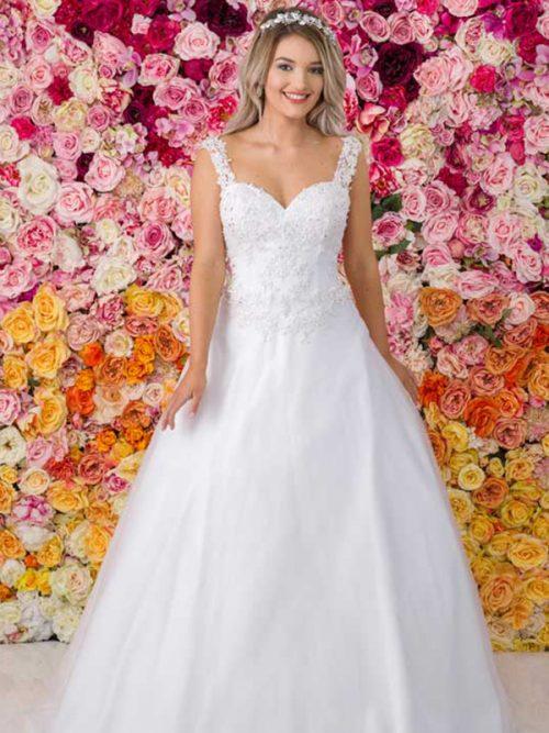 G232 Allure Debutante Gown